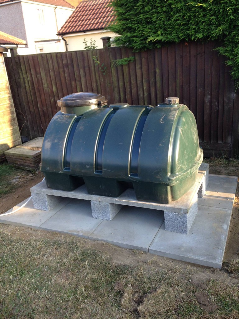 Oil Tank Installations - Installation complete