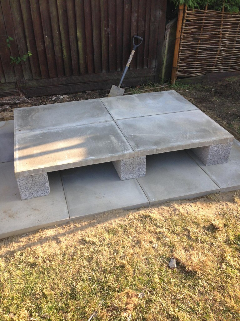 Oil Tank Installations - Base finished